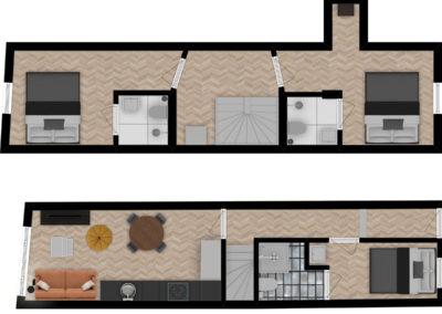 Floor plan Maxima Penthouse 02